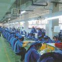 2002南京工場設立生産ライン